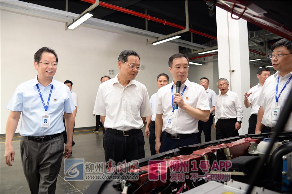 艰苦创业、自强不息!自治区主席陈武点赞柳州企业精神