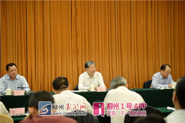 费志荣勉励柳州:不应该也不可能被当前困难吓倒